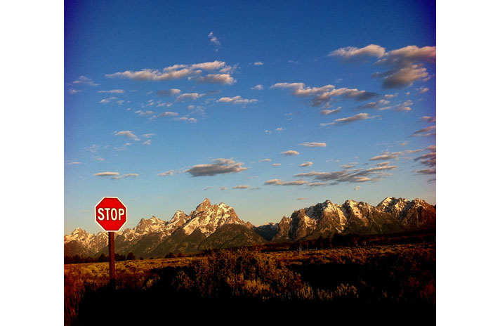 Grand Tetons by David Hume Kennerly