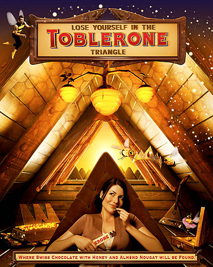 Toblerone Chocolate Dreamland