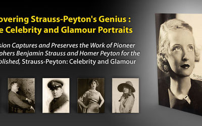 Rediscovering Strauss-Peyton's Genius : Vintage Celebrity and Glamour Portraits