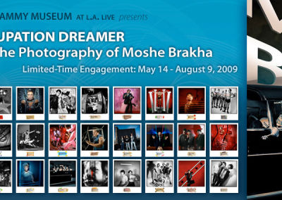 """The GRAMMY Museum presents """"Occupation Dreamer: The Photography of Moshe Brakha"""""""
