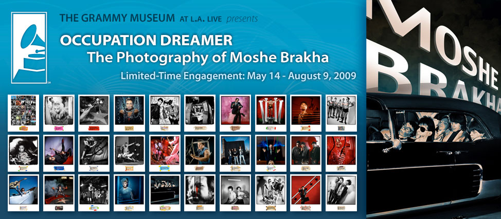 "The GRAMMY Museum presents ""Occupation Dreamer: The Photography of Moshe Brakha"""