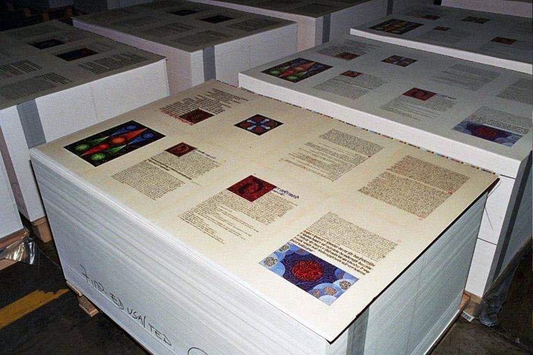 Red Book awaiting binding.