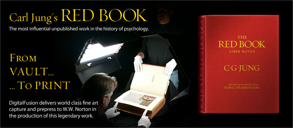 DigitalFusion Captures History for Carl Jung's RED BOOK