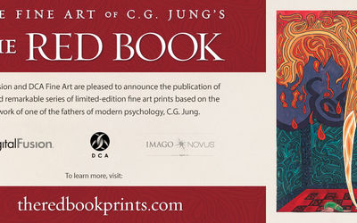 """DigitalFusion and DCA Fine Art present """"The Fine ART of C.G. Jung's The RED BOOK"""""""