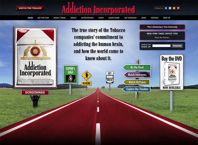 "Addiction Incporporated<br /><a target=""_blank"" href=""http://www.addictionincorporated.com"">www.addictionincorporated.com</a>"
