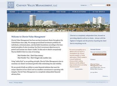 Cheviot Value Management