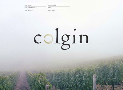 "Colgin Cellars<br /><a target=""_blank"" href=""http://www.colgincellars.com"">www.colgincellars.com<span>Designed by Shiffman&Kohnke — Built by DigitalFusion DESIGN</span></a>"