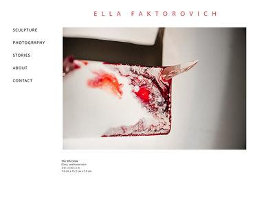 """Ella Faktorovich<br /><a target=""""_blank"""" href=""""http://www.faktorovich.com"""">www.faktorovich.com</a>"""