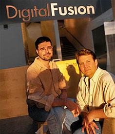Hugh Milstein (left) and Jon Moeller