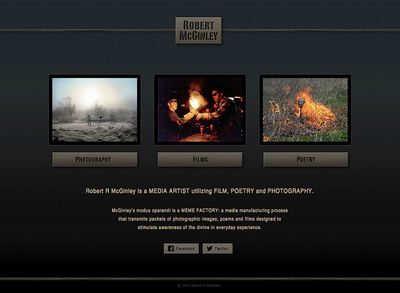 """Robert McGinley<br /><a target=""""_blank"""" href=""""http://www.robertmcginley.com"""">www.robertmcginley.com</a>"""