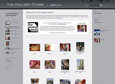 "The Gallery Store<br /><a target=""_blank"" href=""http://thegallerystore.net"">thegallerystore.net</a>"