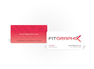 FitGraphiX - Business Card