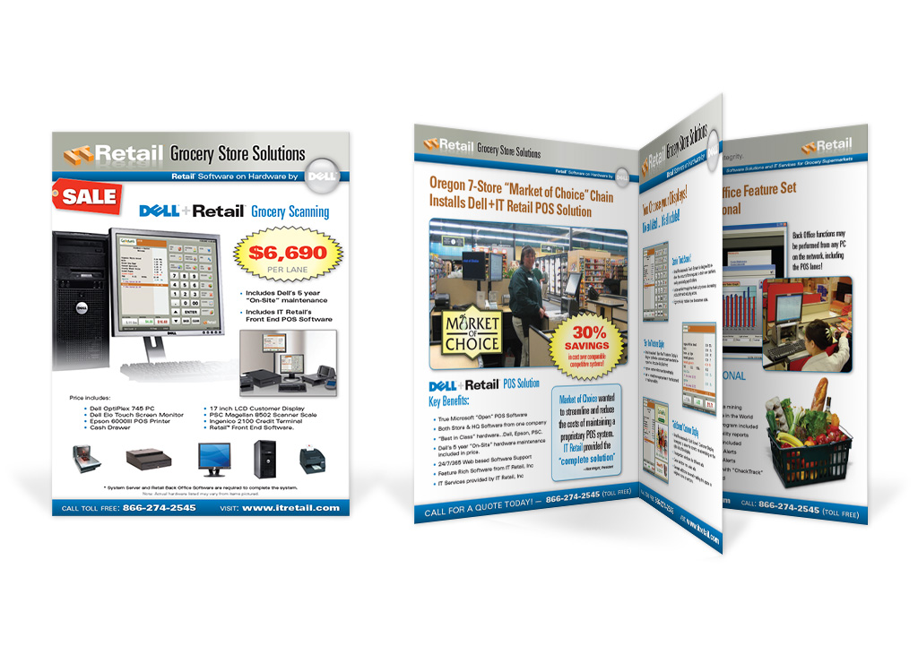 IT Retail – Promotion Brochure