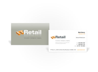 IT Retail - Business Card