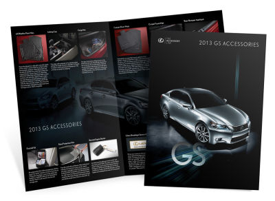 Lexus - 2013 GS Accessories - Brochure