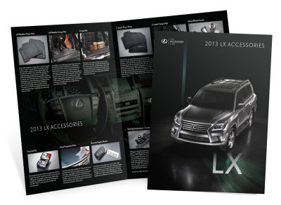 Lexus - 2013 LX Accessories - Brochure