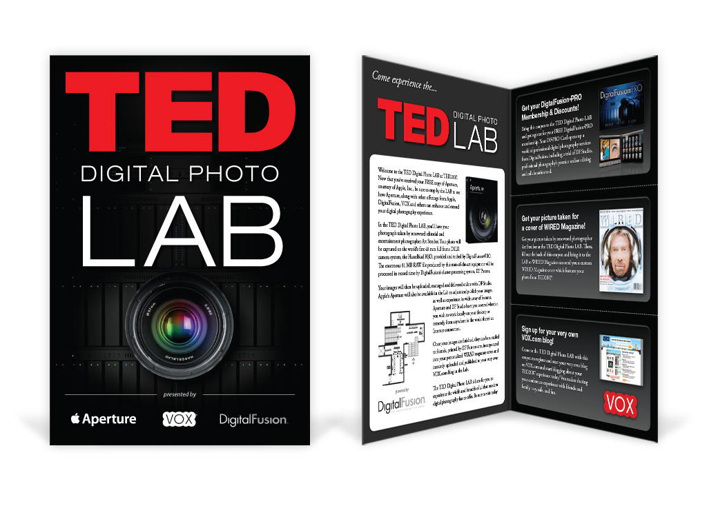 TED LAB – Conference Brochure