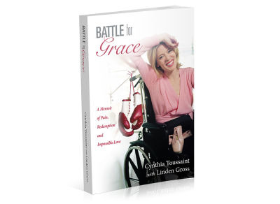 """Battle for Grace"" - Book Cover"