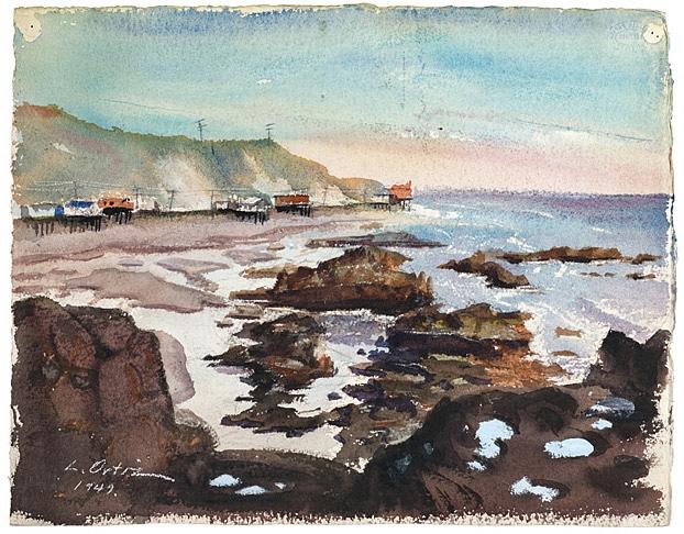Malibu by L.Ortiz, 1949