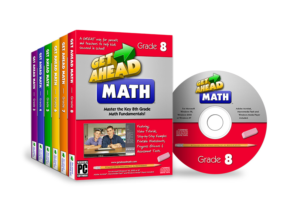 Get Ahead Math – Packaging