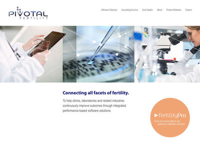"Pivotal Fertility<br /><a target=""_blank"" href=""http://pivotalfertility.com/"">pivotalfertility.com<span>Designed by Masterpol Design — Built by DigitalFusion DESIGN</span></a>"