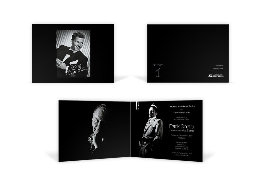 Frank Sinatra – Stamp Event Brochure