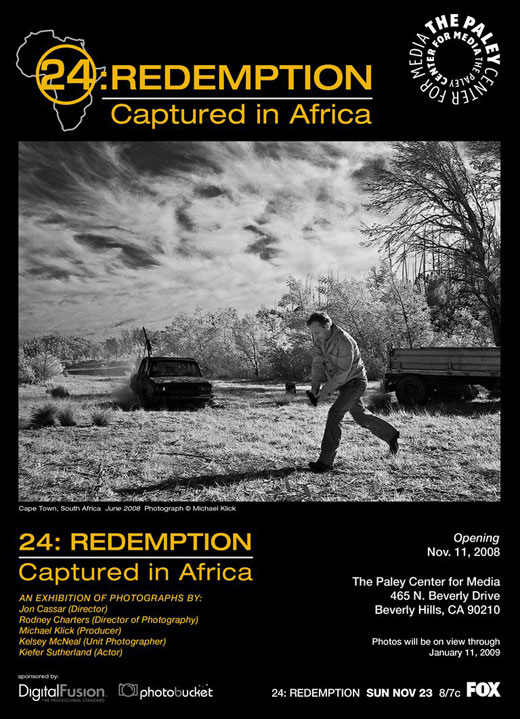 "DigitalFusion PRINTS for… ""24: REDEMPTION — CAPTURED IN AFRICA"""