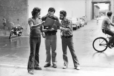 Steven Spielberg, John Milius and George Lucas